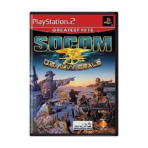 Jogo SOCOM: U.S. Navy SEALs - PS2