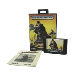 Jogo Indiana Jones and the Last Crusade - Mega Drive