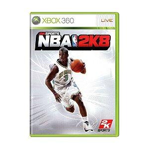 Jogo NBA 2K8 - Xbox 360