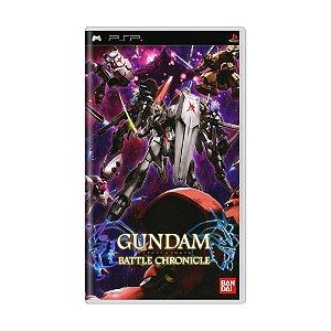 Jogo Gundam Battle Chronicle - PSP