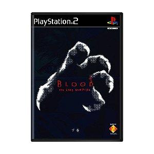 Jogo Blood: The Last Vampire - PS2 (Japonês)