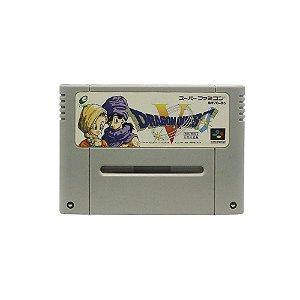 Jogo Dragon Quest V: Tenkuu no Hanayome - SNES (Japonês)