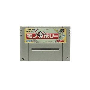 Jogo Monopoly - SNES (Japonês)