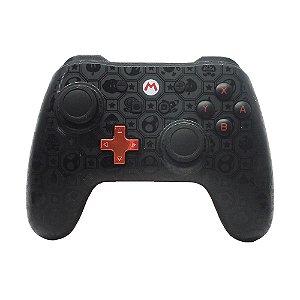 Controle PowerA com fio (Mario Edition) - Switch