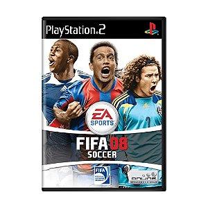 Jogo FIFA Soccer 08 - PS2