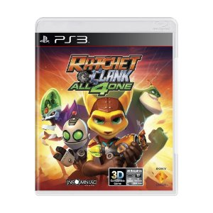 Jogo Ratchet & Clank: All 4 One - PS3