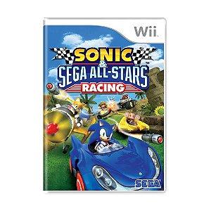 Jogo Sonic e Sega All-Stars Racing - Wii