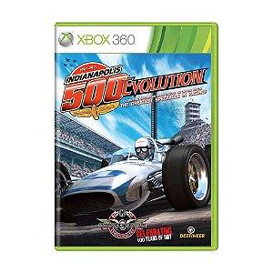 Jogo Indianapolis 500 Evolution - Xbox 360