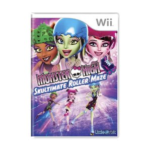 Jogo Monster High: Skultimate Roller Maze - Wii