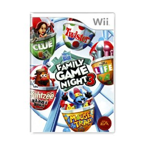 Jogo Hasbro Family Game Night 3 - Wii