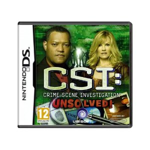 Jogo CSI: Crime Scene Investigation: Unsolved! - DS (Europeu)