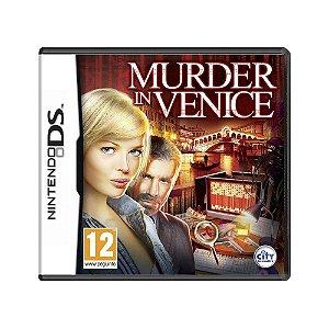 Jogo Murder in Venice - DS (Europeu)