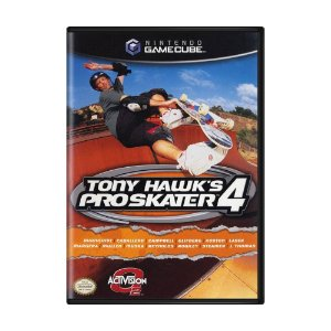 Jogo Tony Hawk's Pro Skater 4 - GameCube