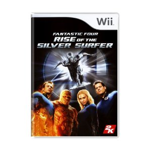 Jogo Fantastic Four: Rise of the Silver Surfer - Wii
