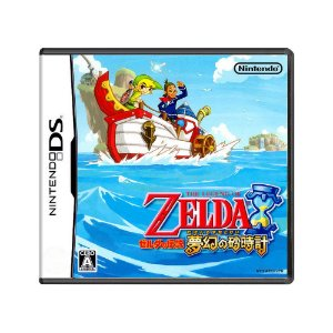 Jogo The Legend of Zelda: Phantom Hourglass - DS (Japonês)