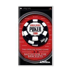 Jogo World Series of Poker 2008: Battle for the Bracelets - PSP