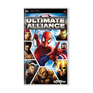 Jogo Marvel: Ultimate Alliance - PSP