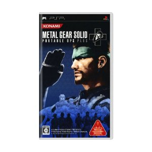 Jogo Metal Gear Solid: Portable Ops Plus - PSP