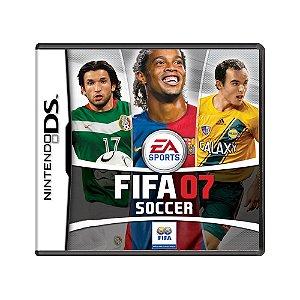 Jogo FIFA Soccer 07 - DS