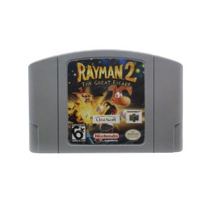 Jogo Rayman 2: The Great Escape - N64