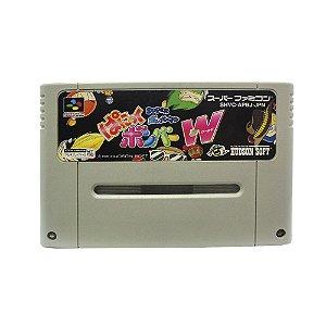 Jogo Super Bomberman: Panic Bomber W - SNES (Japonês)