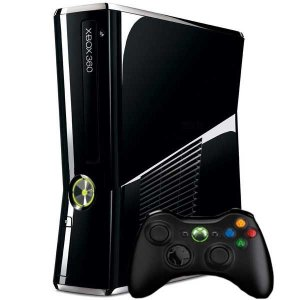 Console Xbox 360 Slim 320GB Black Piano - Microsoft