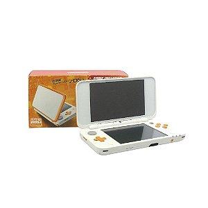 Console New Nintendo 2DS XL Branco e Laranja - Nintendo