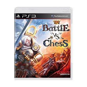Jogo Battle vs. Chess - PS3