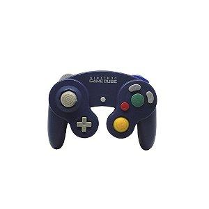 Controle GameCube Roxo com fio - Nintendo