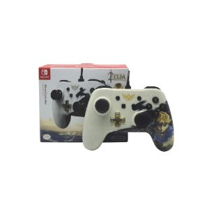 Controle PowerA com fio (The Legend of Zelda: Link Edition) - Switch