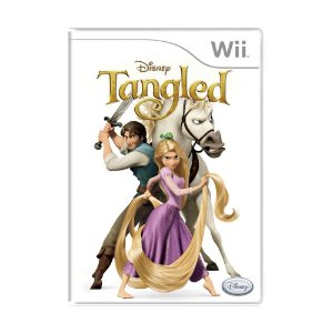Jogo Disney Tangled: The Video Game - Wii