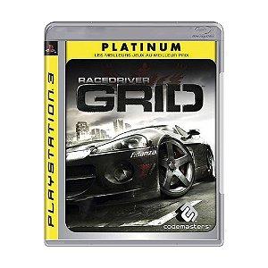 Jogo Race Driver: GRID - PS3