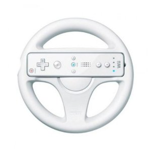 Volante Branco para Nintendo Wii - Wii