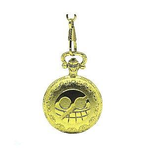 Relógio de Bolso Dourado Donquixote Doflamingo