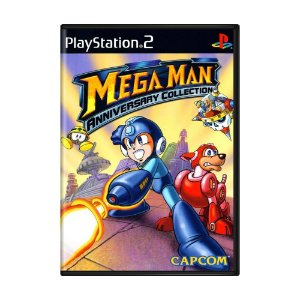 Jogo Mega Man Anniversary Collection - PS2