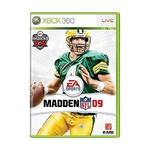 Jogo Madden NFL 09 - Xbox 360