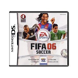 Jogo FIFA Soccer 06 - DS