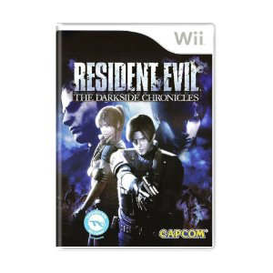 Jogo Resident Evil: The Darkside Chronicles - Wii (Lacrado)