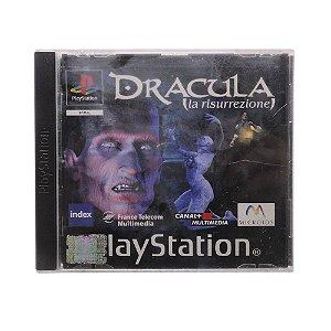 Jogo Dracula: La Risurrezione - PS1 (Europeu)