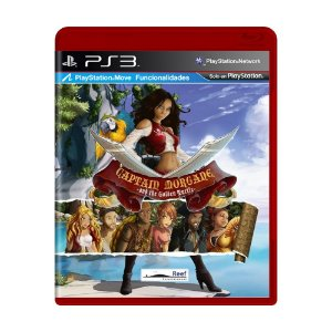 Jogo Captain Morgane and the Golden Turtle - PS3