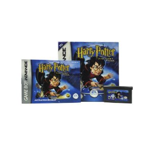 Jogo Harry Potter and the Sorcerer's Stone - GBA