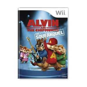 Jogo Alvin and the Chipmunks: The Squeakquel - Wii