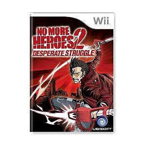 Jogo No More Heroes 2: Desperate Struggle - Wii