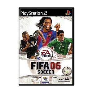 Jogo FIFA Soccer 06 - PS2