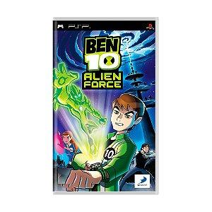 Jogo Ben 10: Alien Force - PSP