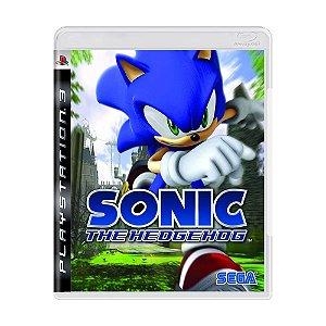 Jogo Sonic The Hedgehog - PS3