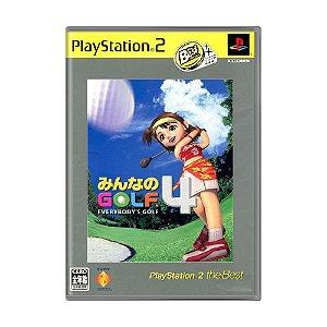 Jogo Everybody's Golf 4 - PS2 (Japonês)