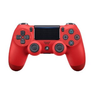 Controle Sony Dualshock 4 Magma Red sem fio - PS4
