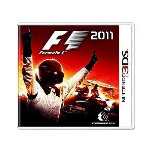 Jogo F1 2011 - 3DS