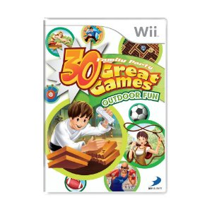 Jogo Family Party: 30 Great Games Outdoor Fun - Wii